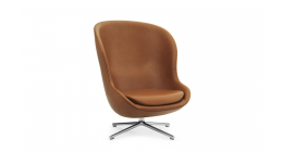 Hyg Lounge Chair High Swivel - Normann Copenhagen